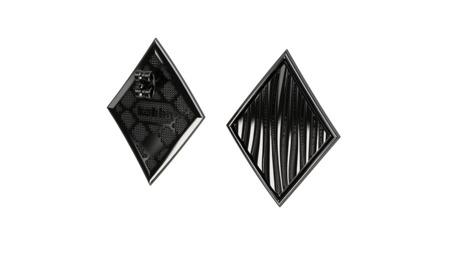 Earrings Baltic Black