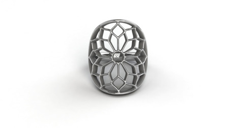 Ring Chartres White