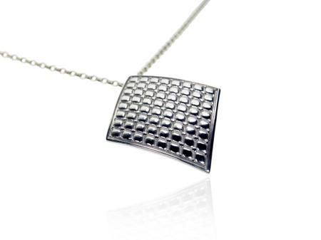 Halskette Chesterfield Weiß