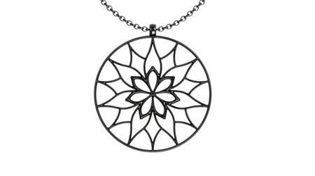 Halskette Yorkshire Schwarz