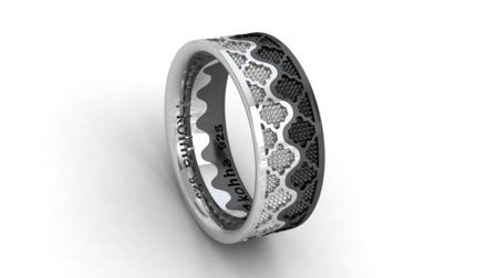 Ring Crown Black