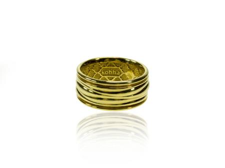 Obrączka pozłacana Baltic Gold