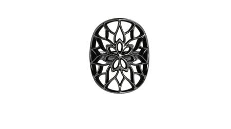 Pierścionek srebrny Yorkshire Black