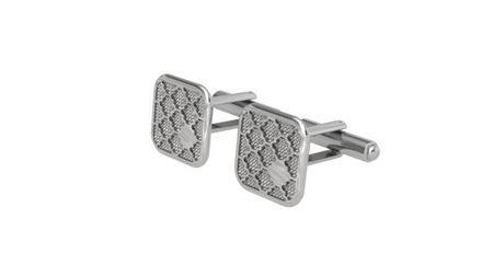 Spinki srebrne Business Silver